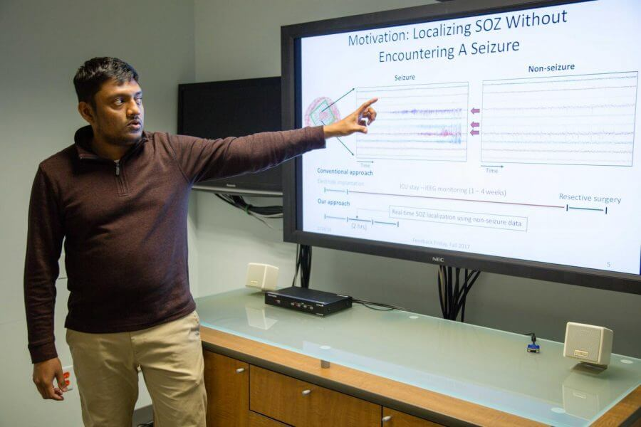 Graduate Student Uses Artificial Intelligence AI to Advance Epilepsy Research