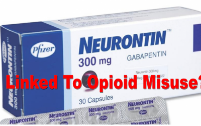 Epilepsy drug (Gabapentin/Neuronton) linked to opioid misuse